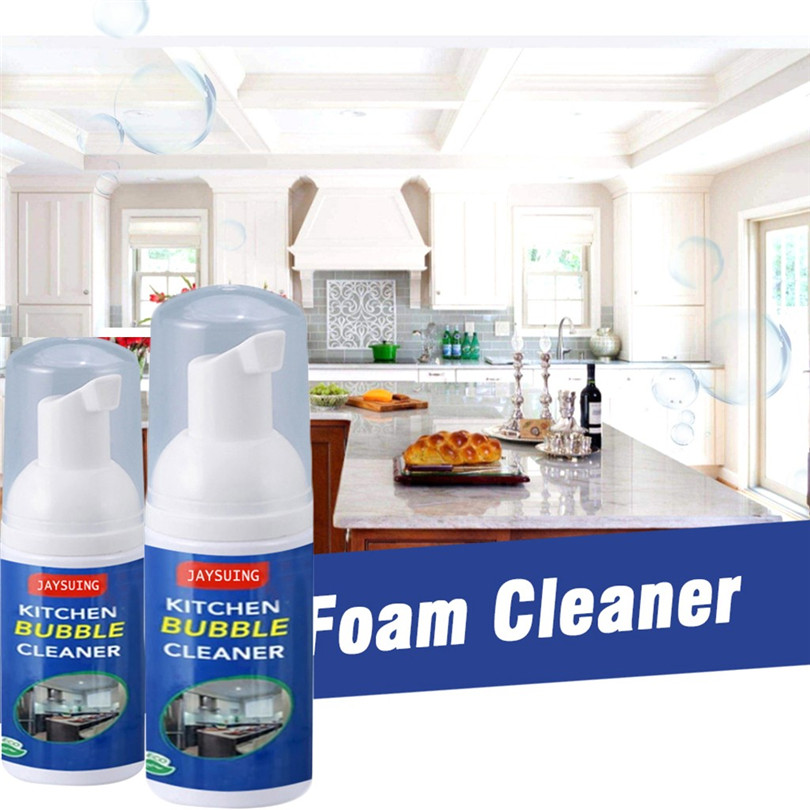 All-Purpose Cleaning Bubble Spray Kitchen Grease Cleaner 2020 P6Y4