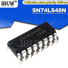 10PCS SN74LS48N DIP16 SN74LS48 74LS48N 74LS48 DIP Integrated IC