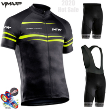 2020 Team Northwave Cycling Jerseys Bike Wear clothes Quick-Dry bib gel Sets Clothing Ropa Ciclismo uniformes Maillot Sport Wear