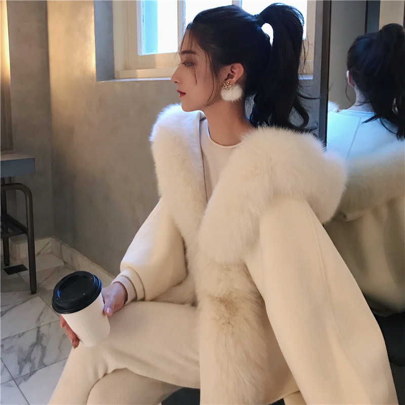Women Faux Fur Coat Elegant Thick Warm New Fashion Outerwear Fake Fur Jacket Winter Faux Fur Coat Women