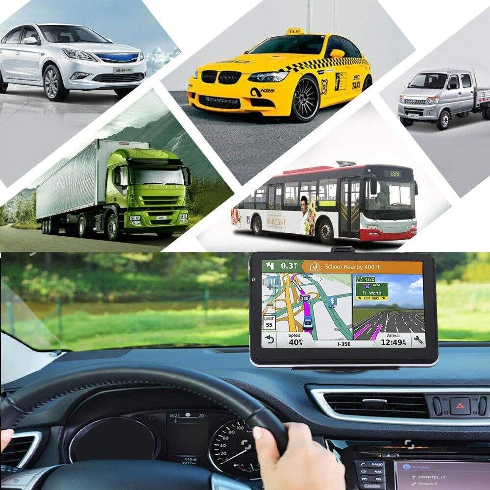 Грузовик gps навигатор Navitel 7 дюймов HD ЖК-экран FM256MB спутниковый голос будет нести чешские навигационные автомобильные аксессуары последние