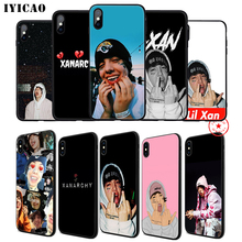 IYICAO Lil Xan Lilxan Rap Soft Phone Case for iPhone 11 Pro XR X XS Max 6 6S 7 8 Plus 5 5S SE Silicone TPU