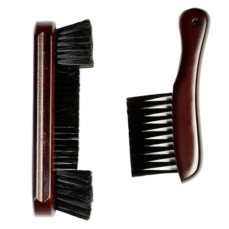 2PCS/Lot Billiard Brush Set Snooker Table Corner Brush And Rail Brush Set Pool Table Cleaning PVC Horse Hair Brush Accessories