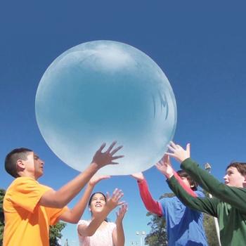 Dziecięca niesamowita kula kąpielowa wypełniona interaktywnym odpornym na łzy balonem zabawa na świeżym powietrzu i sport zabawa dla dzieci zabawki typu Fidget prezent tanie i dobre opinie 4-6y CN (pochodzenie) Outdoor Soft Air Water Filled Bubble Ball Unisex Other Inflatable about 50cm Nadmuchiwana dropshipping