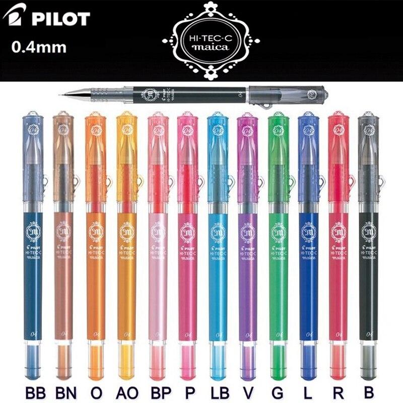 c Maica 0.4mm roller ball pen RED INK free ship 5 pcs pilot hi-tec