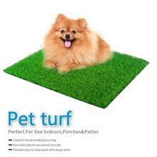 Cat Dog Grass Toilet Mat Indoor Potty Trainer Grass Dog Patch Pad Supplies Kitten Pet Toilet Toilette Turf Bedpan Pet Clean V6E3