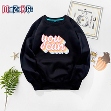 New Arrivals Autumn Boy Fashion Clothing Letter Printing You Can Kids  Top Girls Sweatshirt Childrens Clothes For Girl Sweater