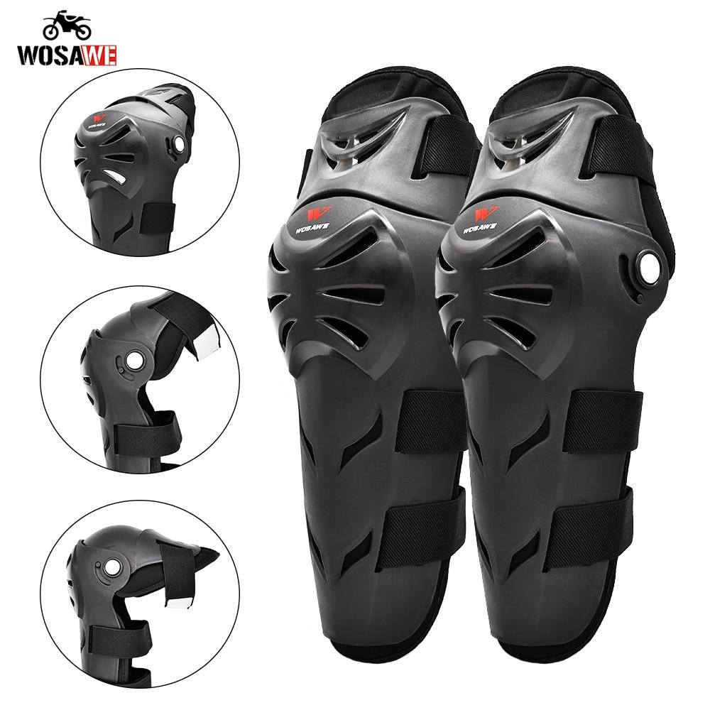 WOSAWE мотоциклетные наколенники для мотокросса защита колена мотогонок Защитная Экипировка наколенники для мотоцикла MTB наколенники