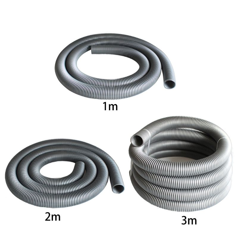1/2/3M Inner Diameter 50mm Vacuum Cleaner Thread Hose Soft Pipe Durable Water Absorption Machine Tube Straws Durable Parts