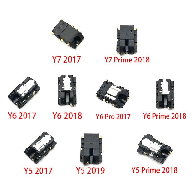New Ear Earphone Headphone Jack Audio Flex Cable For Huawei Y6 Y5 Prime Y7 Y9 2017 2018 2019 Repair Parts