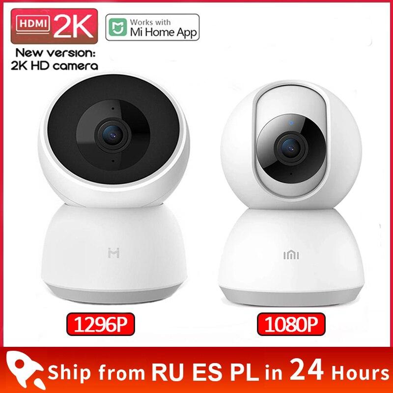 Xiaomi умная камера 2K 1296P 360 угол 1080P HD WIFI инфракрасная веб-камера ночного видения Видео IP камера Радионяня Mi Home