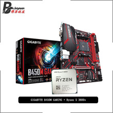B450M GAMING 3600x-Cpu Amd Ryzen Socket Am4 R5 Suit Cooler Without
