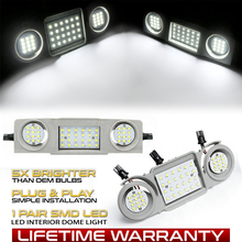 LED Car Interior Dome Roof Lights For VW Golf Passat Jetta Scirocco Sharan Tiguan Touran Skoda Octavia Superb Seat Alhambra Leon
