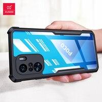 Xundd-funda para POCO F3, carcasa transparente a prueba de golpes, ajustada, para Xiaomi POCOPHONE POCO F3 Pro