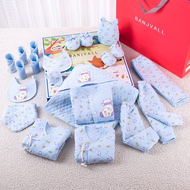 Clothes For Babies Newborns Gift Set Autumn & Winter BABY'S FIRST Month GIRL'S And BOY'S Gift Newborn Baby Supplies