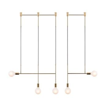 Post Modern Iron Geometric LED Chandeliers Lighting Bedroom Living Room lustres Kitchen Lighting Decoration Lamp Luminaria