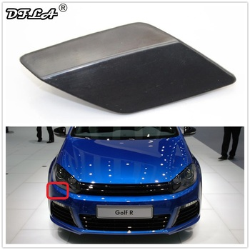 Right Side For VW Golf A6 MK6 R20 2013 2014 2015 2016 Car-styling Front Bumper Headlight Washer Cover Cap 5G0955110G image