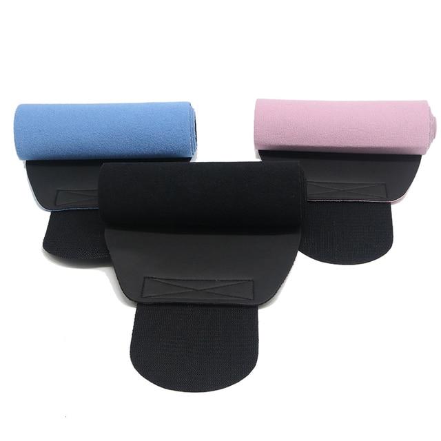 2019 Men Women Popular Waist Support Fitness Belt Elastic Shaping Sweat Wicking Abdomen Sports Fitness Belt Waist Trainer 4