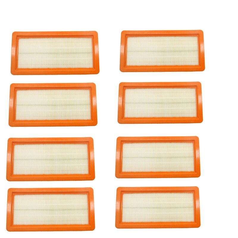 Ev Aletleri'ten Elektrikli Süpürge parçaları'de 8 adet Karcher filtresi Ds5500  Ds6000  Ds5600  ds5800 robotlu süpürge parçaları Karcher 6.414 631.0 hepa filtreleri yıkanabilir filtre title=