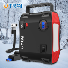 UTRAI 4 IN 1 Car Jump Starter Power Bank 24000mah 2000A with air compressor Portable