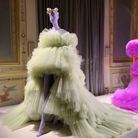 Charming Evening Dress Strapless robe deo soiree longue Hi Low Off Shoulder Evening Gown Oliver Green Long Formal Dress abiye