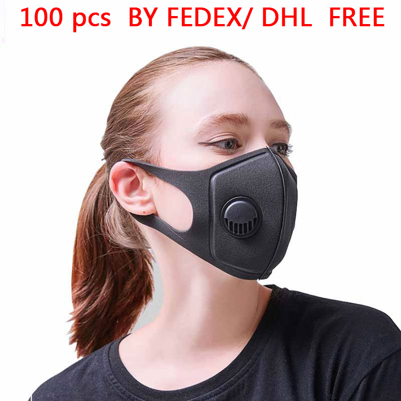100 PCS Pollution Mask Military  Anti Air Dust  Smoke Pollution face Mask with Adjustable Straps and Washable Respirator Mask