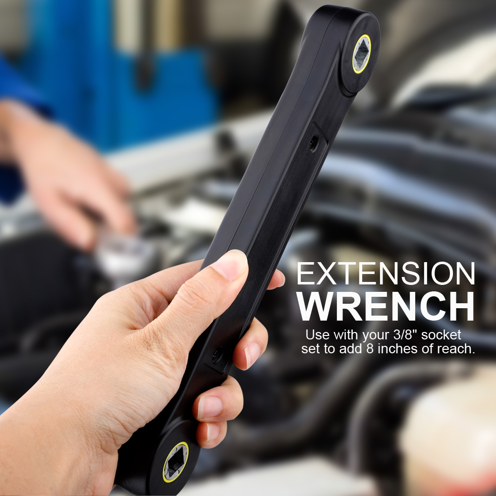 Universal Extension Wrench Automotive Tools Screw Nut Wrench Convenient Handhold Tool For Water-tap Machine Models Repairing