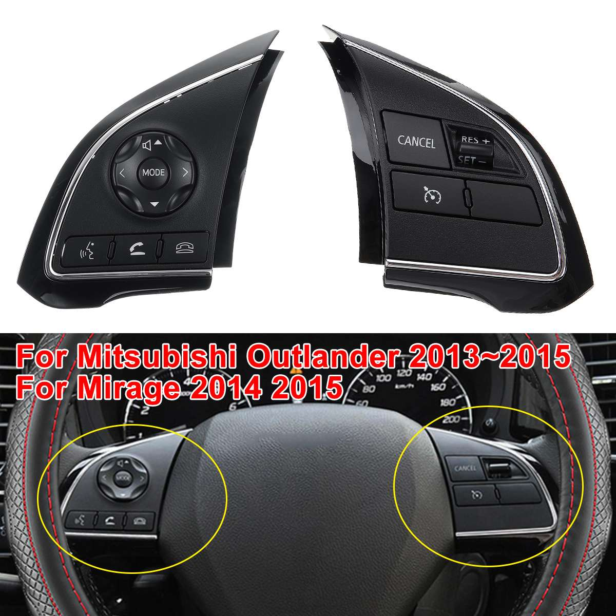 Cruise Control Steering Wheel Switch Right 8602A088 For Outlander Mirage 2014-15
