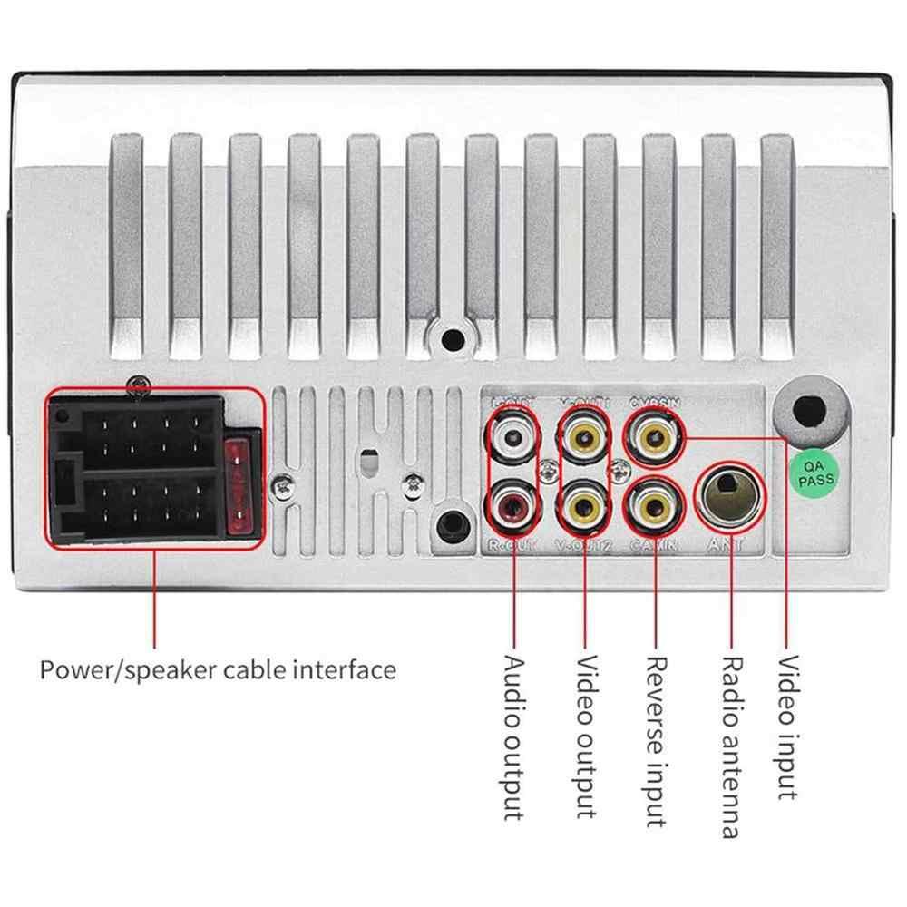 7010b 7 Polegada duplo 2din carro mp5 player bt tela de toque estéreo rádio hd multimídia player suporte mesma tela