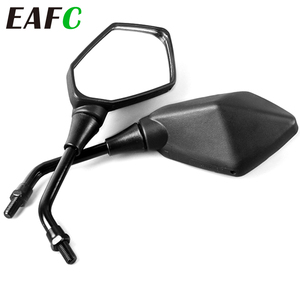 Universial 8mm 10mm Motorcycle Mirror Scooter E-Bike Rearview Mirrors 2Pcs/Pair Electromobile Back Side Convex Mirror