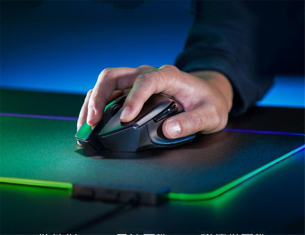 mouse bluetooth & compatível sem fio 16000dpi dpi sensor óptico mouse gamer