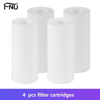 4 szt Pakowany filtr zamienny wkłady do wody filtr maszynowy do usuwania chloru rdza filtr do kranu filtr prysznicowy tanie i dobre opinie CN (pochodzenie) NONE 5 MICON 1 month White Shower Head Water Heater Waching Machine