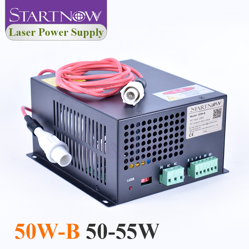 50W-B Co2 Laser Generator MYJG-50 Co2 Laser Source 45W High Voltage Laser Power Supply 50W For Laser Engraving Cutting Machine