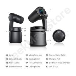 Image 3 - OBSBOT Cauda Auto Diretor AI Pista Câmera zoom automático captura até 4K/60fps vs insta360 um x evo 360 câmera