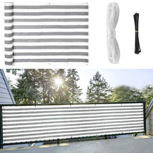 1x5M Heavy Duty Privacy Screen Fence Balcony Privacy Shield UV Protection Opaque Weather-Resistant Balcony Cover