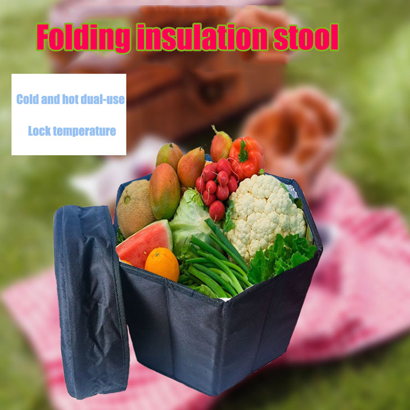 Multifunctional Insulation Storage Stool Keep Warm Cold Cooler Outdoor Camping Stool SAL99 Outdoor Tools     - title=