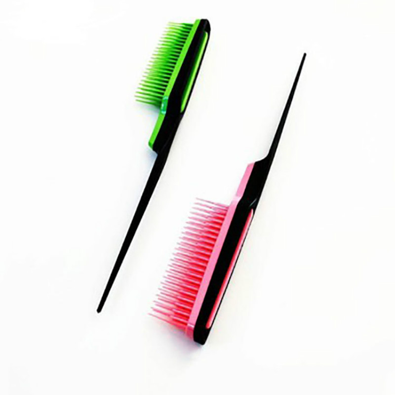 1pc Professional Hair Comb Pointed Tail Comb Teasing Curly Hair Brush Salon Hairdressing Styling Combs Tools