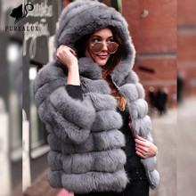 Real Fur Coats Womens Handmade Clothing Short Paragraph Thick Warm High Quality Whole Skin Natural Fox Coat