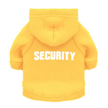 Security Cat Coats Jacket Hoodies For Cats Clothes Pet Outfit Warm Clothing Rabbit Animals Costume for Dogs Black