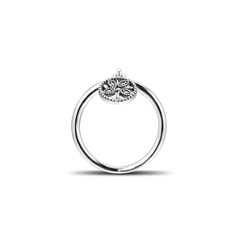 Original 925 Sterling Silver Ring Tree of Life Rings For Women Wedding Party Birthday Gift Fine Jewelry Wholesale Free Shipping in Rings from Jewelry Accessories