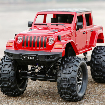 JTY Toys RC Truck 4WD 1:14 Wrangler Remote Control Off-Road Vehicle Model Waterproof Radio RC Trucks Buggy Toy For Children недорого