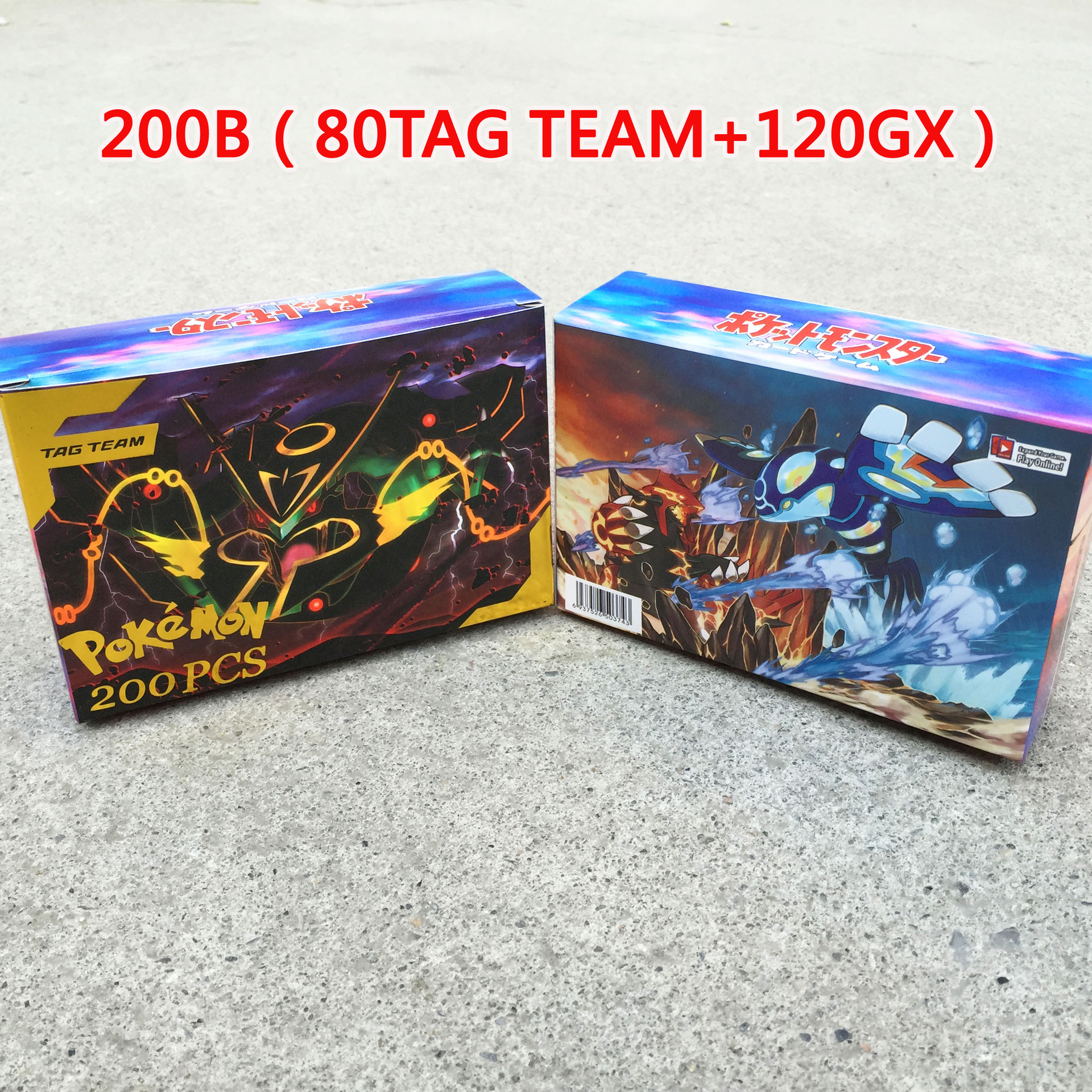 TAKARA TOMY 200pcs Pokemon Tag Team Gx Battle Toys Hobbies Collectibles Game Collection Anime Cards For Children Christmas Gift