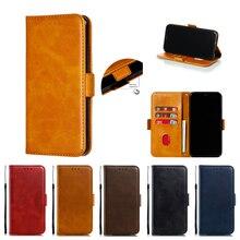 Magnétique En Cuir coque de téléphone Pour iphone 5 5S 6 6S 7plus X XR XS MAX Étui Portefeuille Housse Pour iphone 11 Pro MAX Cas