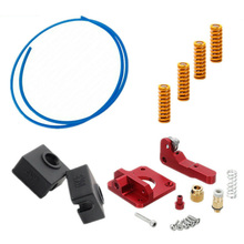 Upgrade Kit Springs Extruder Sock Capricorn Clone Tube  Accessories Supplies for 3D Printer Part Creality Ender 3
