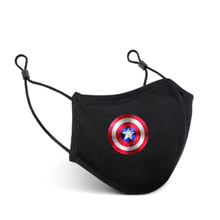 2021 New Captain America Adult Face Mask Lover Mask Silver Ion Antibacterial Mask Reusable Protective Cotton Masks Washable Mask