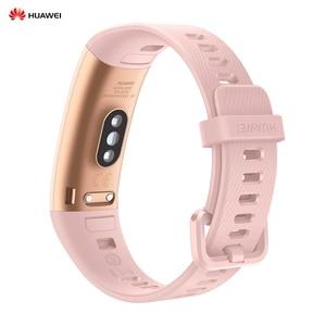 "Image 3 - HUAWEI Band 4 Pro 0.95"" Full AMOLED Touchscreen Smart Band Heart Rate Health Monitor GPS Sports Fitness Bracelet Women Men"