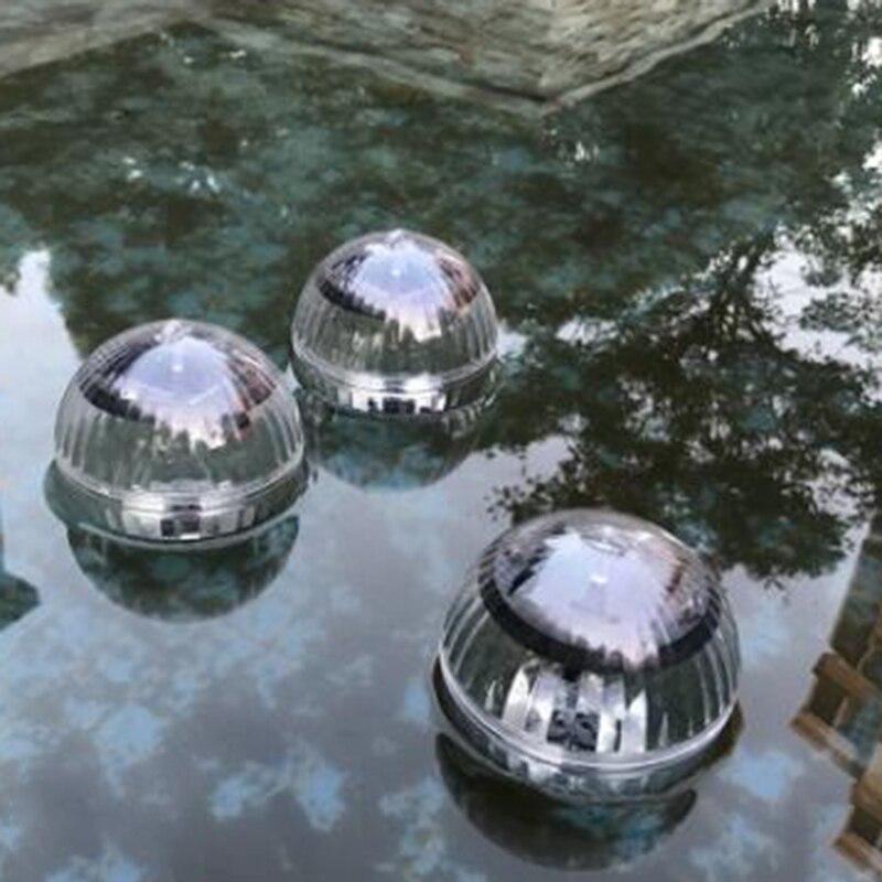 Ball LED Waterproof Light Solar Powered Garden Swimming Pool Pond Lamp Night Energy saving Garden Suncatchers     - title=