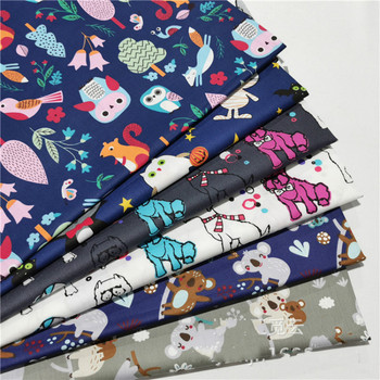 Dark Cartoon Cotton Twill  Fabric Cotton Quilting Fabric by Half Meter for DIY Sewing Bed Sheet Making Cotton Fabric 100x160cm pure cotton fabric cloth for baby bed sheet patchwork quilting twill bedding cartoon fabrics diy dolls sewing textile