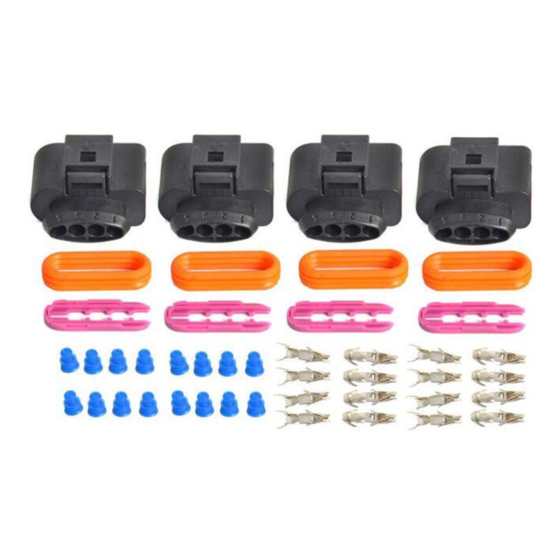 1 комплект, комплект для ремонта катушек зажигания, соединителей IC39 для Audi A4 A6 A8 для VW Passat A0NE