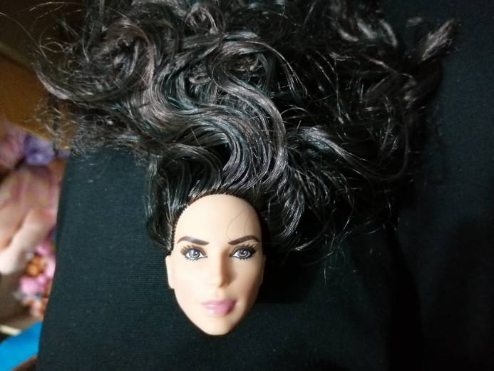 Special Offer New Brand Original Heads For  Handicraft Material Original Doll Head Fittings DC Comics Wonder Woman